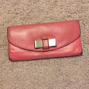 Chloe Pink Wallet - Authentic